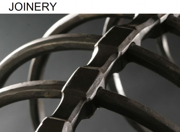 Joinery in metal